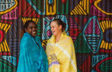 Tarlina Tipungwuti and Ash Barty