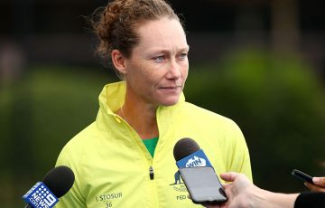 Sam Stosur; Getty Images