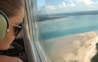 Ash Barty travels to the Tiwi Islands
