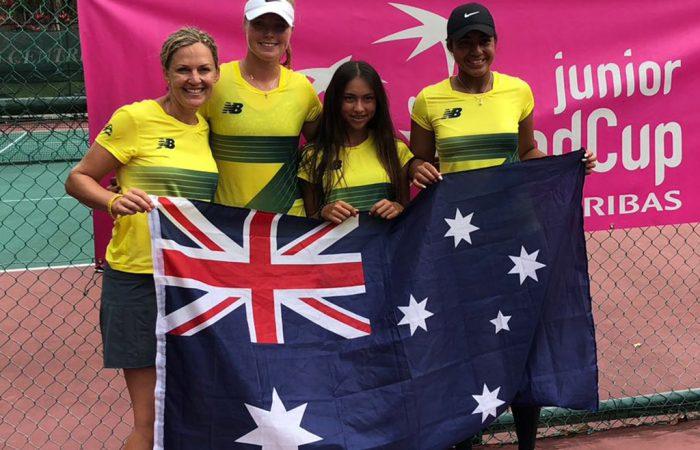 Australia's Junior Fed Cup team