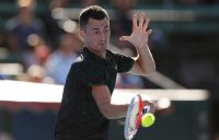 CLOSING IN: Bernard Tomic is one win away from qualifying for Roland Garros; Getty Images