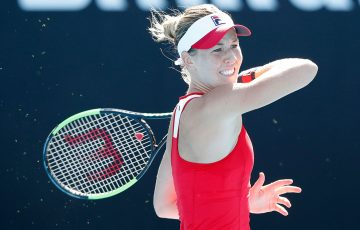 FOCUSED: Olivia Rogowska begins her French Open qualifying campaign tonight; Getty Images