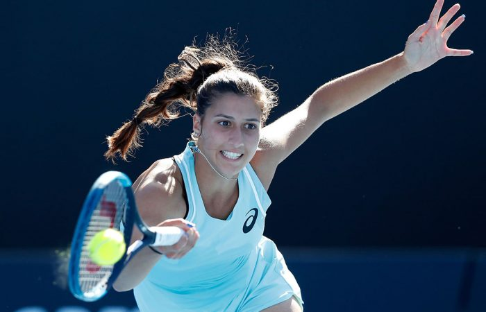 IMPROVING: Jaimee Fourlis is at a new career-high ranking this week; Getty Images