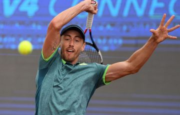 ONE TO WATCH: Australian John Millman will aim to upset in-form teen Denis Shapovalov at Roland Garros tonight; Getty Images