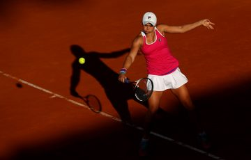 IMPRESSIVE FORM:  Ash Barty is into the Strasbourg semifinals; Getty Images