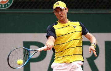 TIGHT BATTLE:  Matthew Ebden will resume his French Open first round match in a fifth set; Getty Images