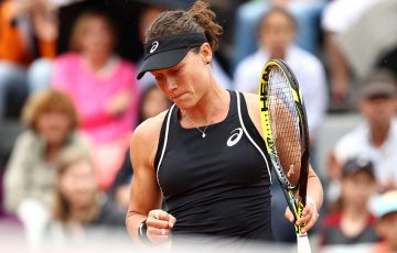 FOCUSED: Sam Stosur has made a winning start in both singles and doubles in Paris; Getty Images
