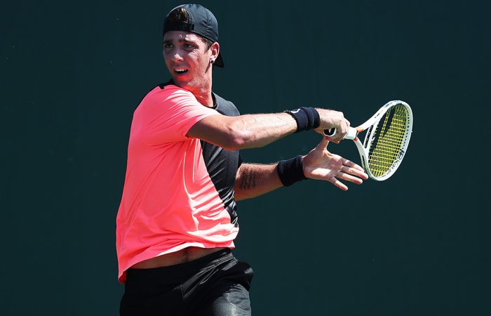 READY TO GO: Thanasi Kokkinakis is one of six Australian men who begin their French Open qualifying campaign tonight; Getty Images