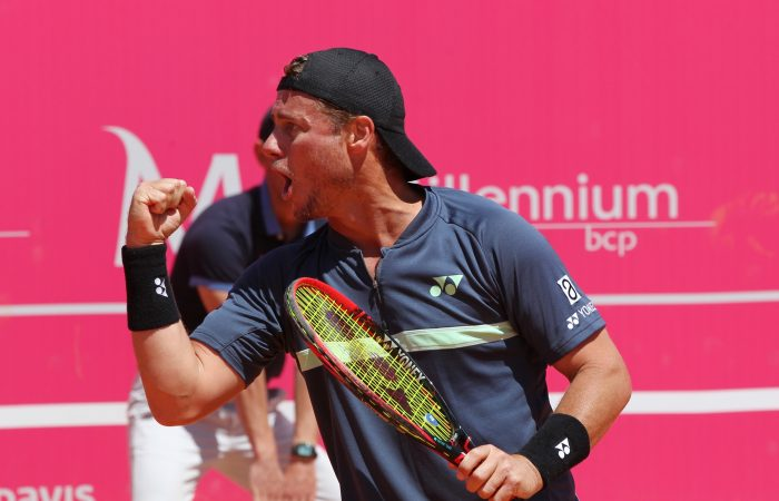 Lleyton Hewitt was back to winning ways (All photos: Millennium Estoril Open)