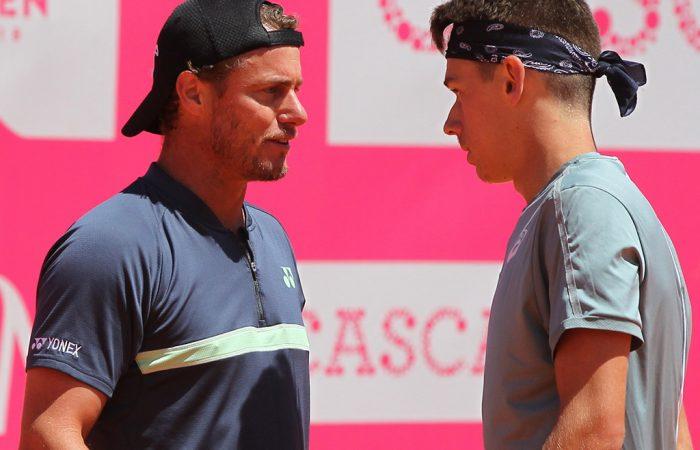 Lleyton Hewitt and Alex de Minaur (Photo: Millennium Estoril Open)