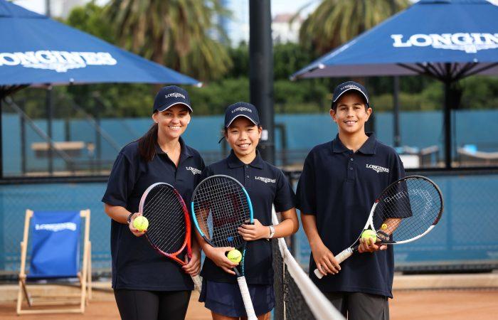 Longines Future Tennis Aces Launch - Casey Dellacqua, Hana Sonton & Zachary Viiala 5