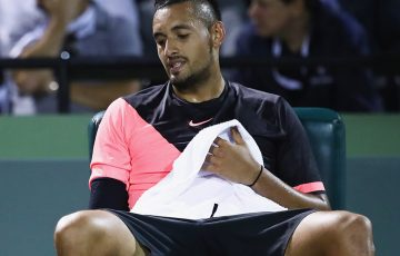 ]Nick Kyrgios of Australia; Getty Images