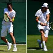 Alex Bolt (L) and Thanasi Kokkinakis will play off for a place in the Wimbledon main draw; Getty Images