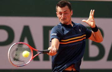 RETURN TO FORM: Bernard Tomic is into the s-Hertogenbosch semifinals; Getty Images