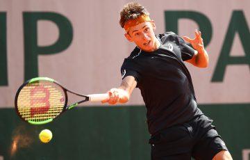 ON THE RISE: Alex De Minaur is enjoying a breakthrough season; Getty Images