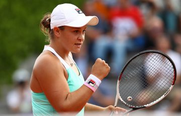 GOOD START: Ash Barty is into the second round in Nottingham; Getty Images