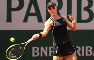FIRING: Sam Stosur is into the French Open third round for a 10th successive year; Getty Images