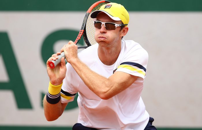 DOUBLES STAR: John Peers in action in Paris; Getty Images