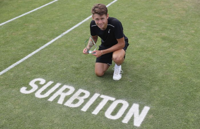 Alex De Minaur, the runner-up in Surbiton, becomes one of three teenagers inside the world's top 100; Getty Images