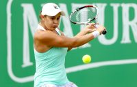 IN THE ZONE: Ash Barty dominated Brit Katie Boulter in the Nottingham quarterfinals; Getty Images