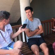 Jason Kubler chats to the Australian media ahead of the 2018 Wimbledon championships; Tennis Australia