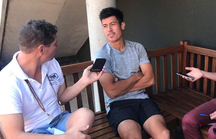 Jason Kubler chats to the Australian media ahead of the 2018 Wimbledon championships; Tennis Australia