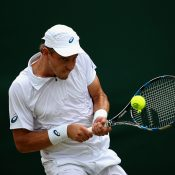 James Duckworth at Wimbledon in 2015; Getty Images