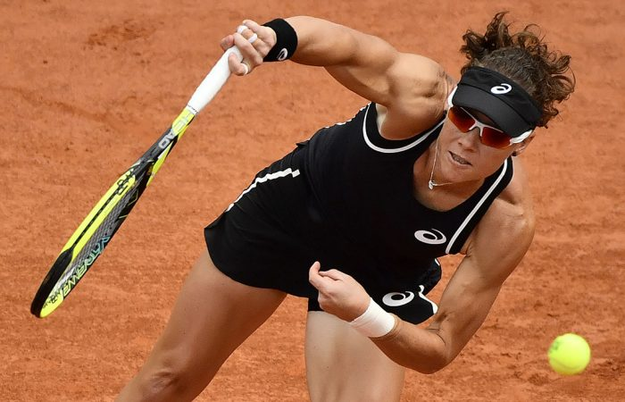 IMPRESSIVE START: Sam Stosur powered past Francesca Schiavone in the Swiss Open first round; Getty Images