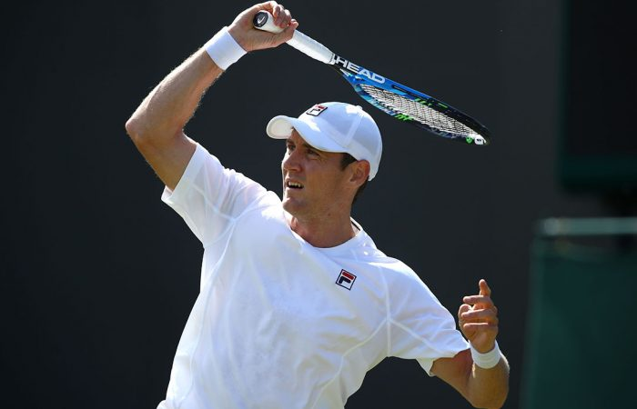 ON THE RISE: Matthew Ebden achieves a career-high ranking and top 50 debut after his Wimbledon third round run; Getty Images