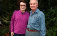 Champions King, Laver reunite at Aussie BBQ