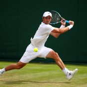 Jordan Thompson at Wimbledon; Getty Images