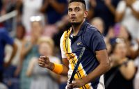 Nick Kyrgios in action at the US Open; Getty Images