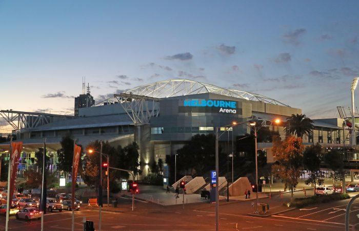 Melbourne Arena artist's impression