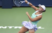 MONTREAL, QC - AUGUST 07: Ashleigh Barty of Australia at the Rogers Cup in Montreal, Quebec, Canada. (Photo by Minas Panagiotakis/Getty Images)
