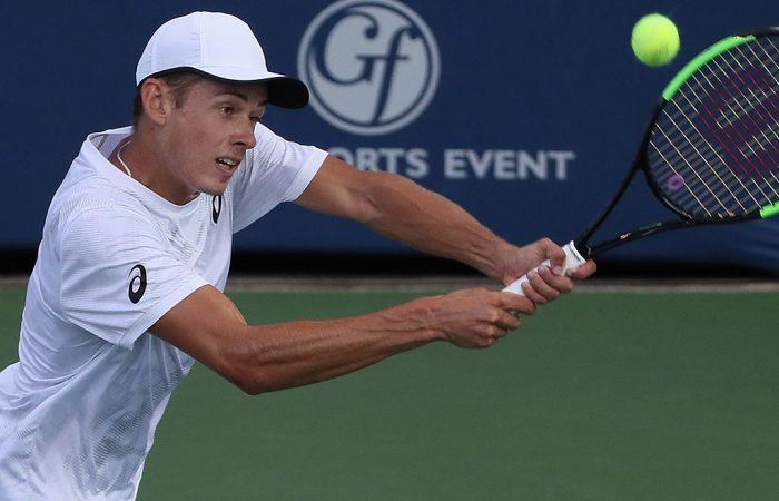 Alex de Minaur is into his third ATP semifinal of the season; Getty Images