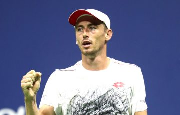 John Millman at the US Open; Getty Images