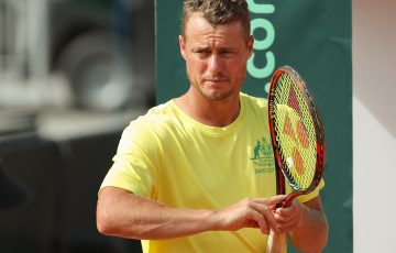 GRAZ,AUSTRIA,13.SEP.18 -  TENNIS - ITF, Davis Cup, Austria vs Australia, preview, training. Image shows captain Lleyton Hewitt (AUS). Photo: GEPA pictures/ Christian Walgram