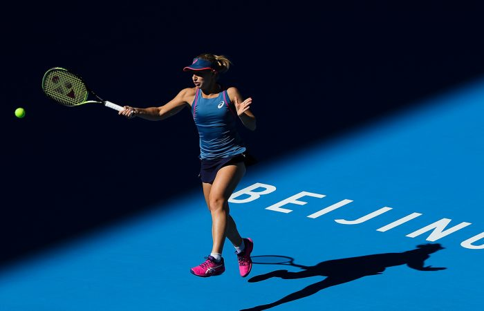 DETERMINED: Daria Gavrilova is aiming to finish 2018 on a high; Getty Images