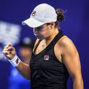Ash Barty at the WTA Elite Trophy in Zhuhai; Getty Images