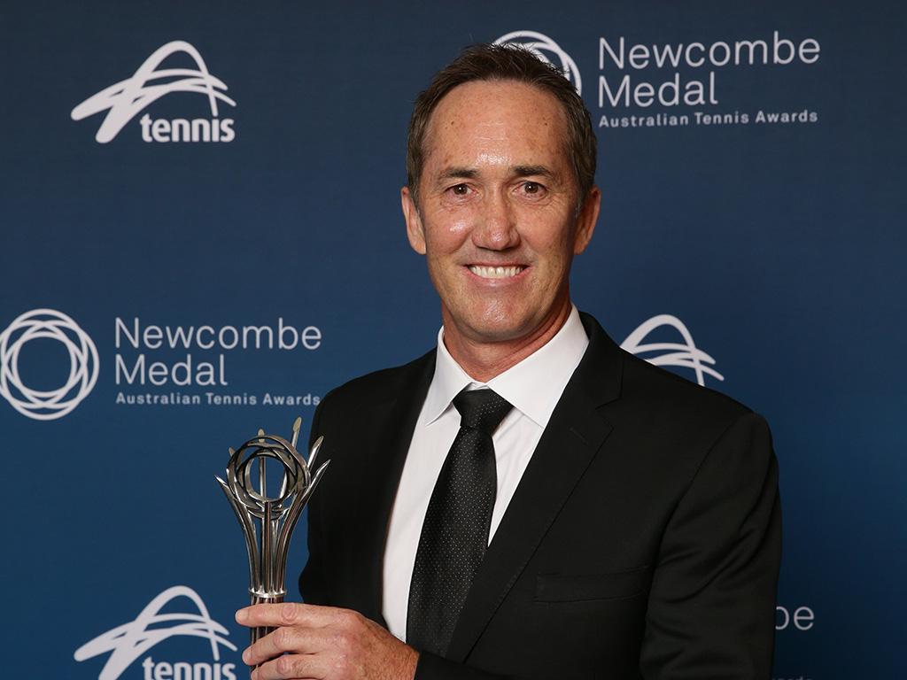 Darren Cahill (Andrew Tauber/Tennis Australia)