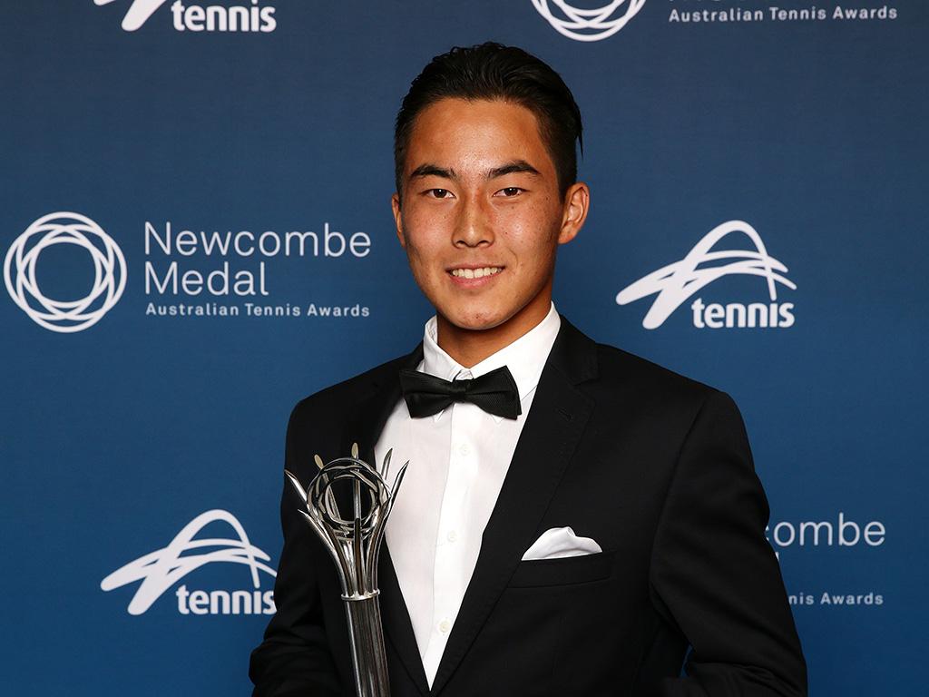 Rinky Hijikata (Andrew Tauber/Tennis Australia)