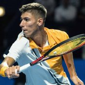 Alexei Popyrin rose more than 550 places in the rankings in 2018; Getty Images