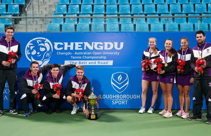 Loughborough University from the UK has taken out the inaugural Belt and Road Chengdu