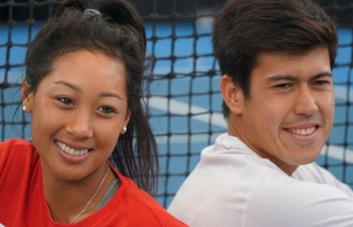 Priscilla Hon and Jason Kubler
