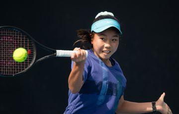 Hana Sonton in action at the December Showdown (credit: Elizabeth Xue Bai)