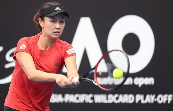 Shuai Peng is through to the final in Zhuhai. Photo: Elizabeth Bai