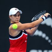 Ash Barty in action at the Sydney International (Getty Images)