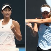 Priscilla Hon (L) and Zoe Hives. (Getty Images)