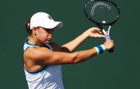 Ash Barty in action during her fourth-round loss to Elina Svitolina at Indian Wells (Getty Images)