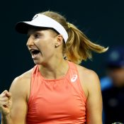Daria Gavrilova in action at Indian Wells (Getty Images)